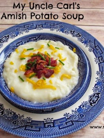 My Uncle Carl's Potato Soup