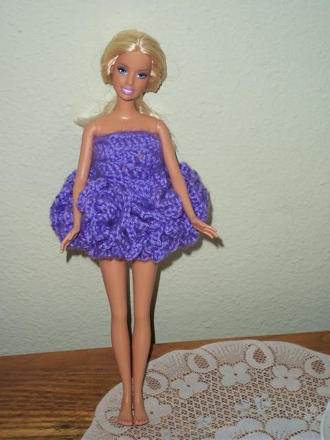 Free Crochet Doll Hat Pattern That Fits Barbie My Turn