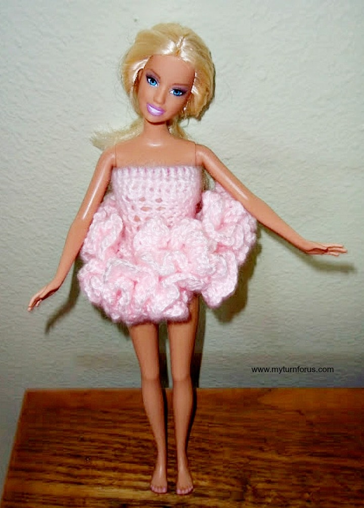 Free Barbie Tutu Crochet Pattern