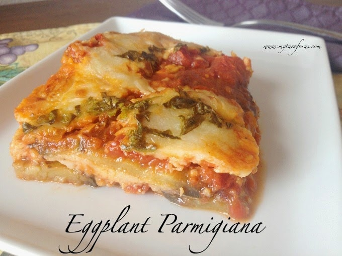 fried eggplant parmesan