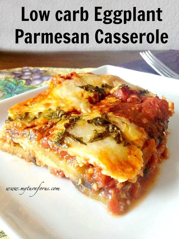 fried eggplant parmesan recipe, eggplant parmesan casserole, low carb eggplant parmesan