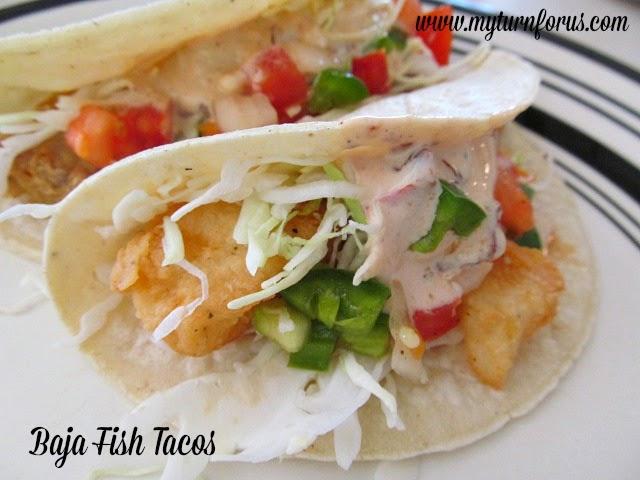 Baja Fish Taco Recipe, Baja Tacos, creamy chipotle sauce
