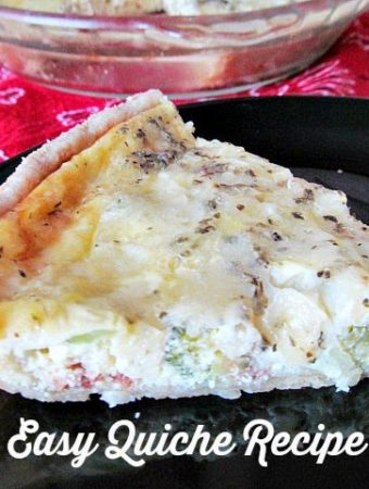 How to make an easy Quiche