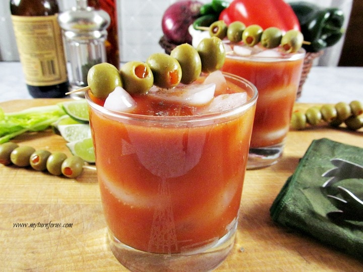 Brunch recipe, Bloody Mary