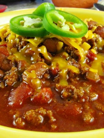 How to Make Easy Texas Chili with Beans