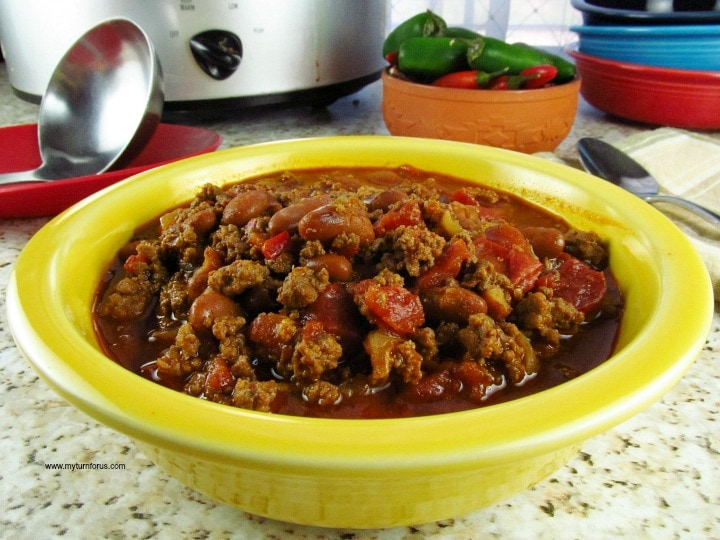 Texas Chili, Easy Texas Chili with Beans