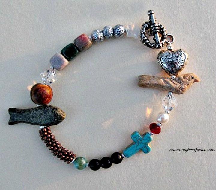 Christian Bracelet, Jesus Bracelet, Inspirational Jewelry