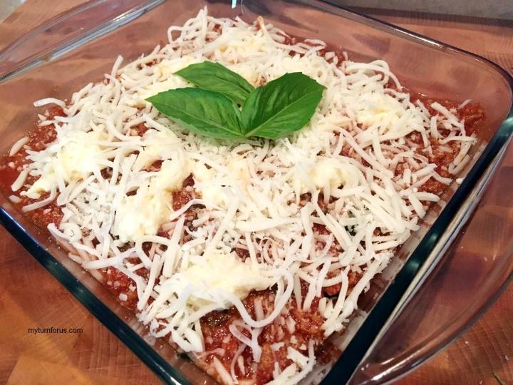 low carb lasagna, zucchini lasagna