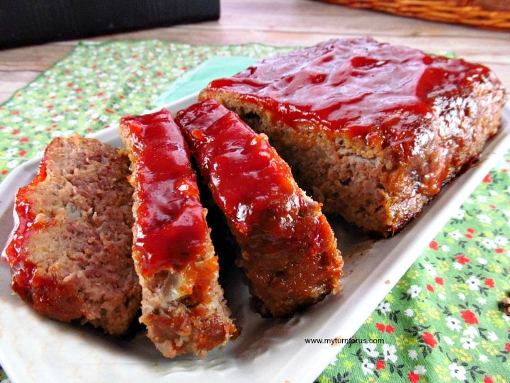 simple Meatloaf, old fashioned meatloaf, good meatloaf recipe
