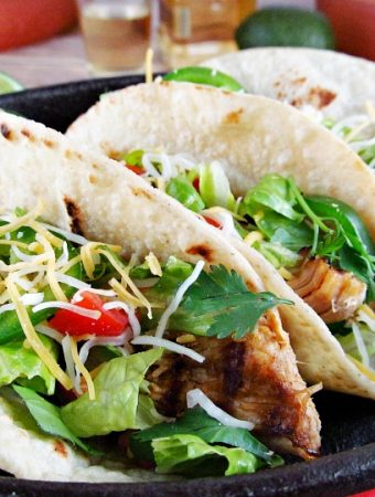How to make the best Grilled Tequila Lime Chicken Tacos