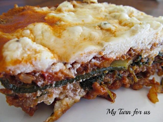 zuccini lasagna