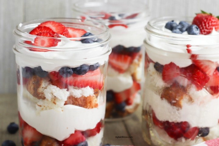 Summer Berry Trifle Mason Jar Dessert My Turn For Us