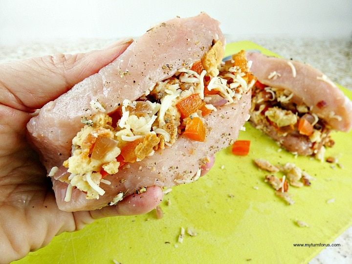 Stuffed Butterfly Pork Chops, butterfly pork chop recipes