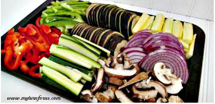 vegetables for primavera