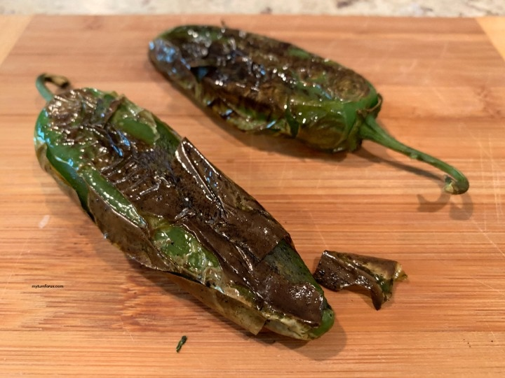 how to roast jalapeños, roasted jalapeños