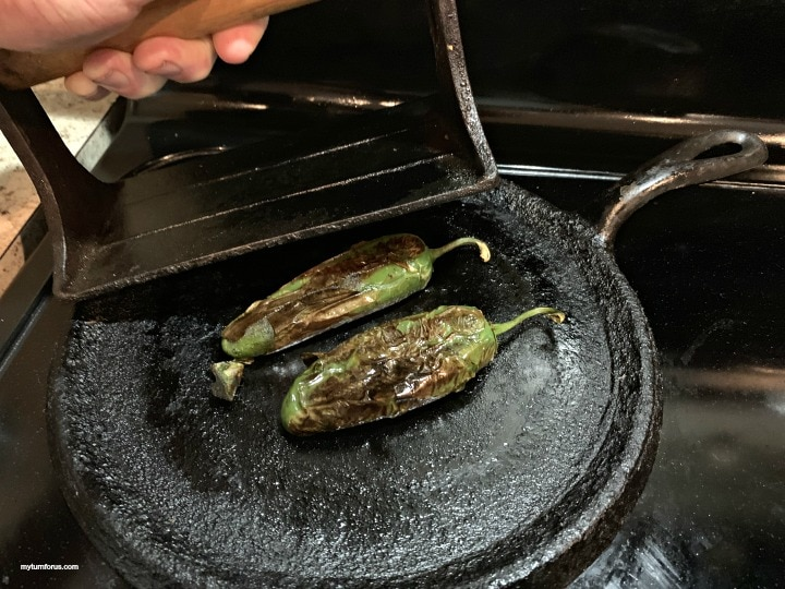 how to roast jalapeños, roasted jalapeños.