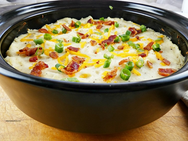 loaded baked potato casserole, twice baked mashed potato casserole