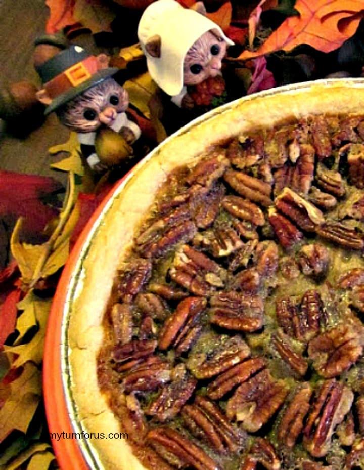 bourbon for cooking, Texas Pecan Pie