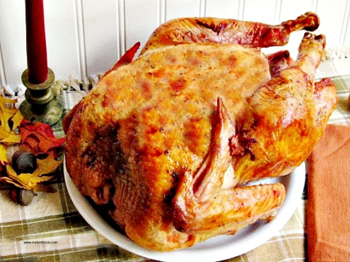 Moist Roast Turkey, perfect roast turkey