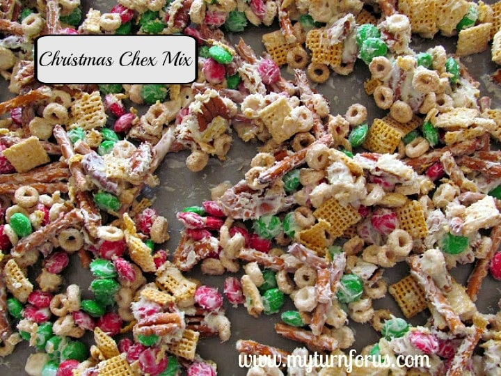how to make easy christmas chex mix reindeer chow my turn for us - Christmas Chex Mix White Chocolate