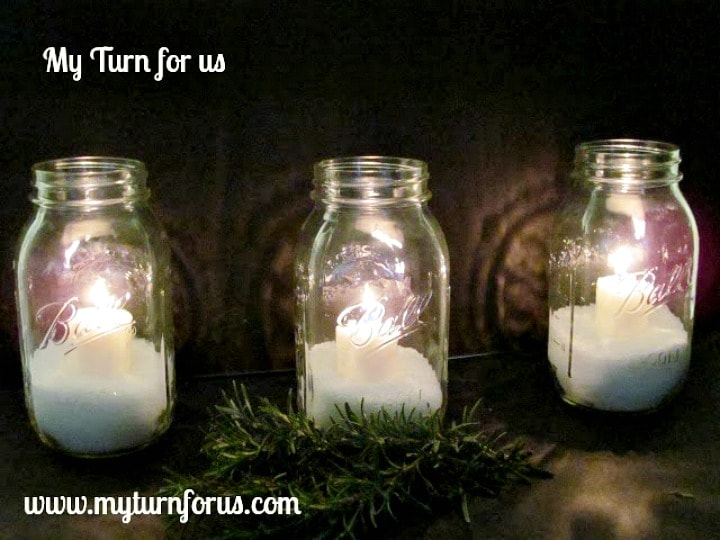 Christmas Jar Ideas, Mason jar lights