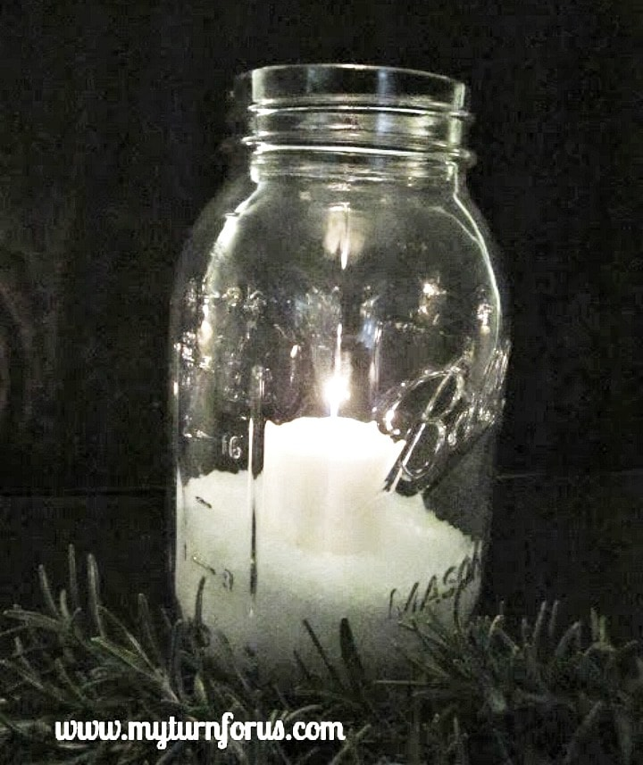 Mason Jar Candle ideas, mason jar lights