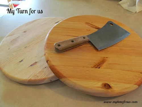 inexpensive wood cutting board - diy cutting boards
