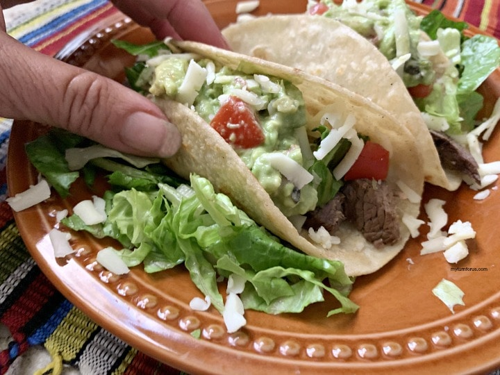 Flank steak Tacos, authentic steak tacos, Authentic Mexican tacos