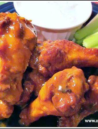How to make Buffalo Wings with Homemade seasonings