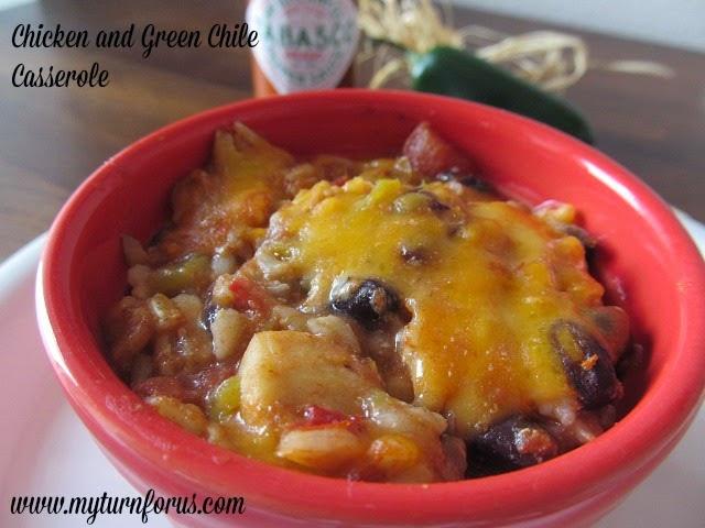 Green Chili Chicken Casserole