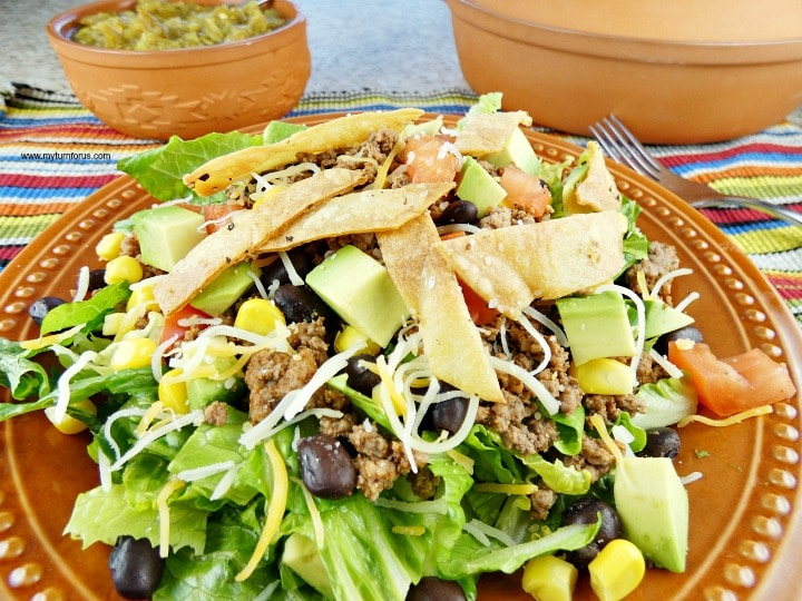 Skinny Taco Salad, Mexican Salad Recipes, best taco salad