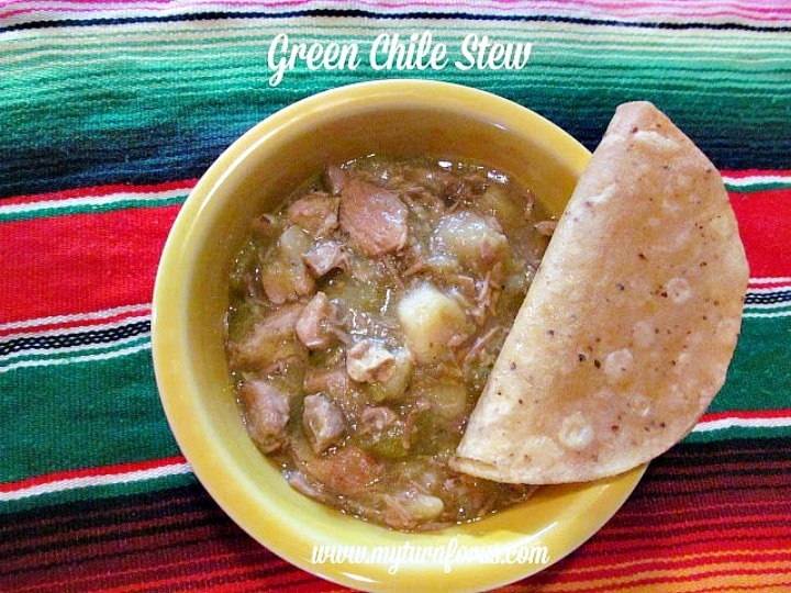Green Chile Pork Slow Cooker Stew