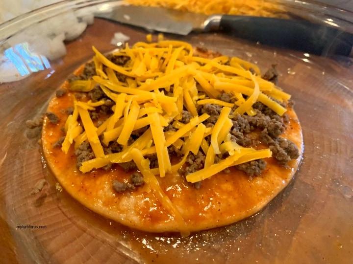 Enchiladas Chihuahua Style