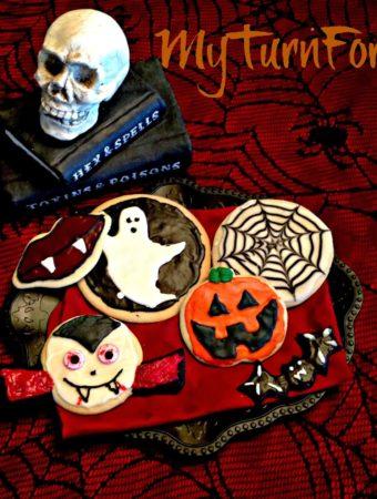 Halloween Decorated Sugar Cookies