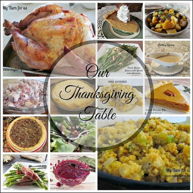 Traditional Thanksgiving food, Traditional Thanksgiving Dinner menu list,Thanksgiving Menu