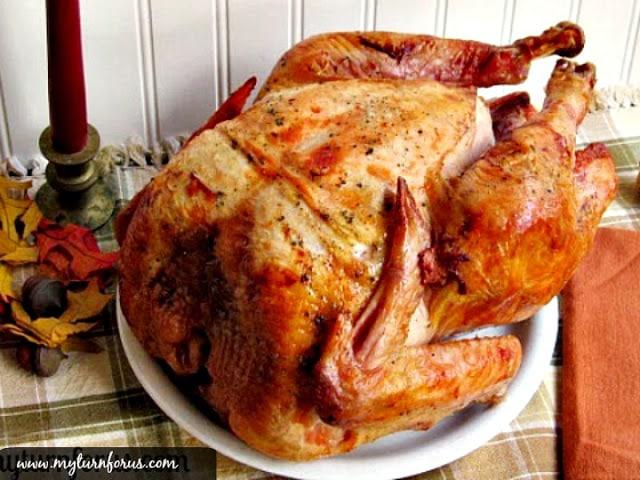 Moist roast turkey, Thanksgiving Recipe