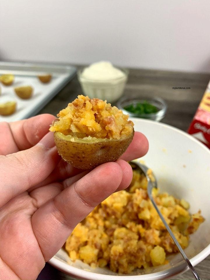 stuffed red potatoes