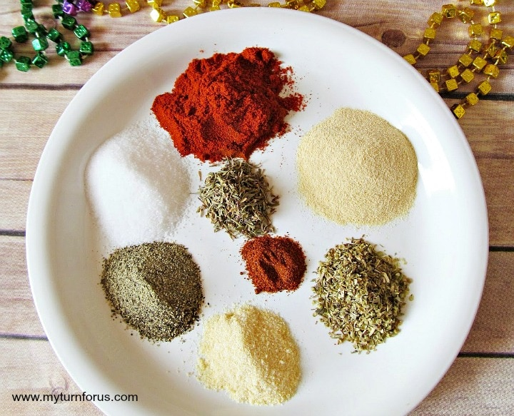 Cajun Blacking Spices