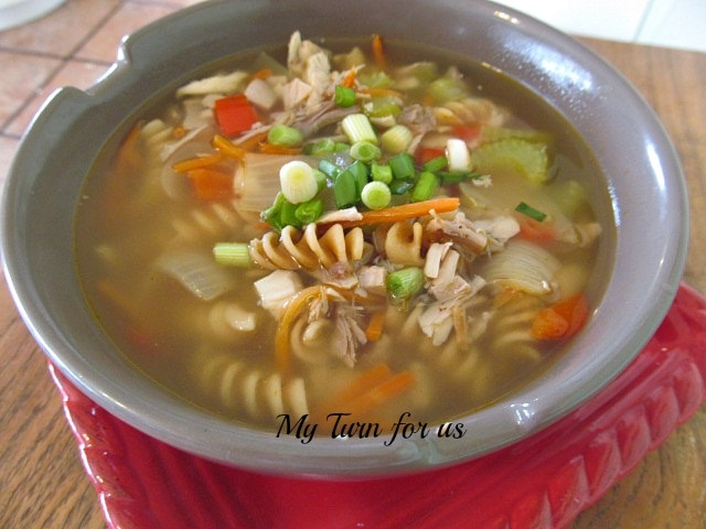 comfort chicken soup