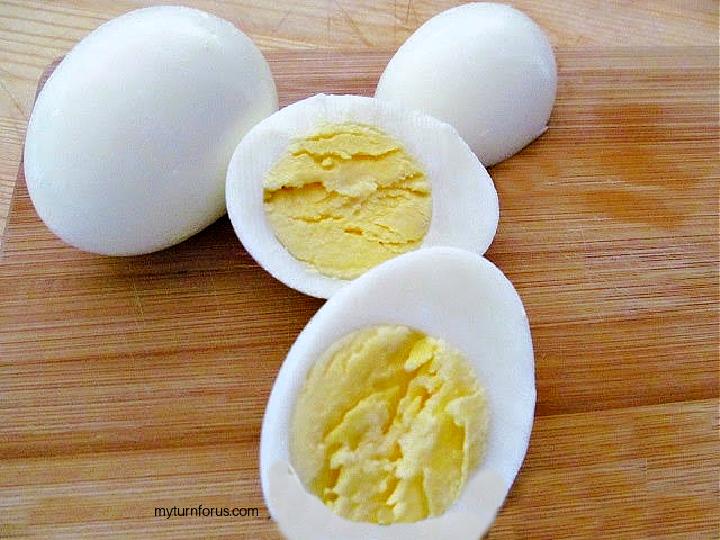perfectly hard boiled egg
