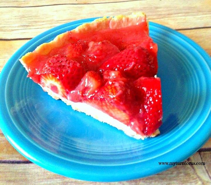 Fresh Strawberry Pie Recipe, Strawberry Pie Recipe, strawberry pie, slice of strawberry pie