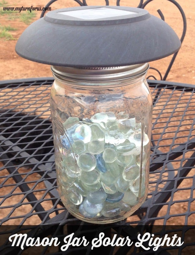 Mason Jar Solar Lights, Mason jar solar light