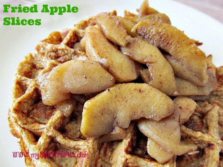 Fried Apple Slices, Fried Cinnamon Apples