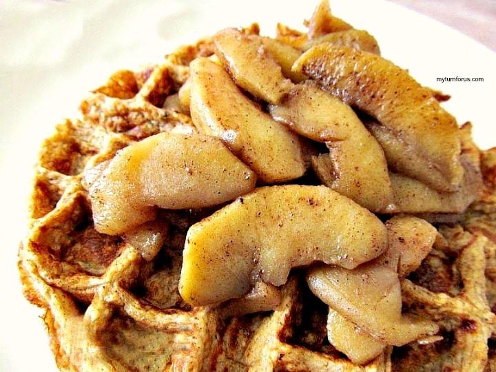 Fried Apple slices,  Fried Cinnamon Apples