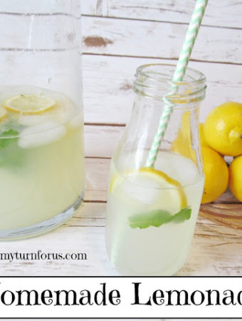 Homemade Sparkling Lemonade