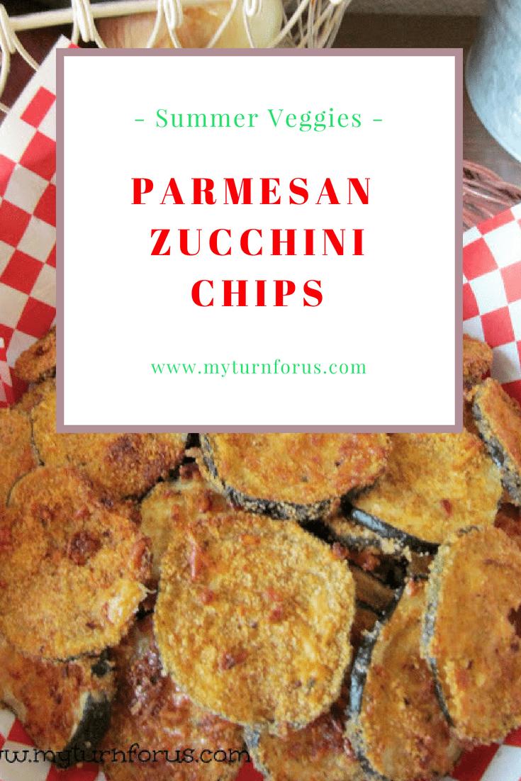 Parmesan Zucchini chips