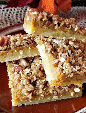 How to Make the Best Pumpkin Pie Squares