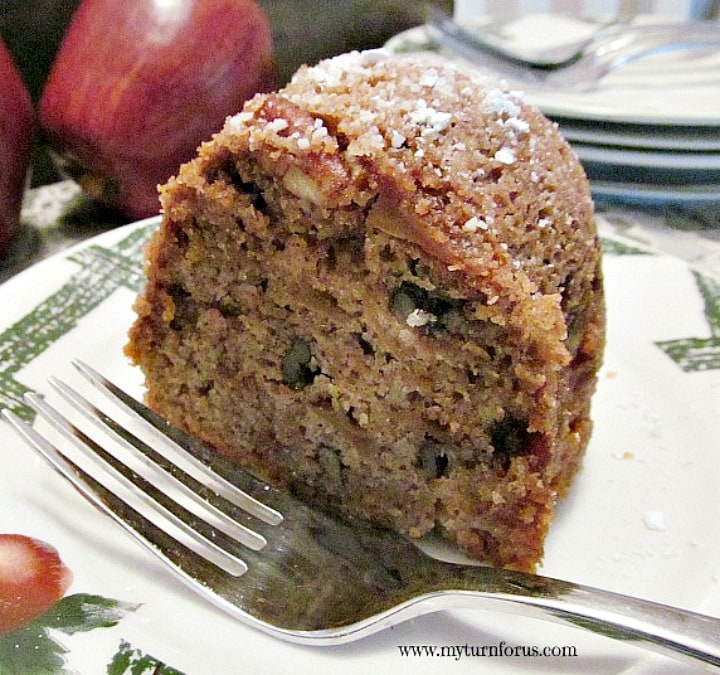 Apple Blossom Cake, Raw Apple Cake