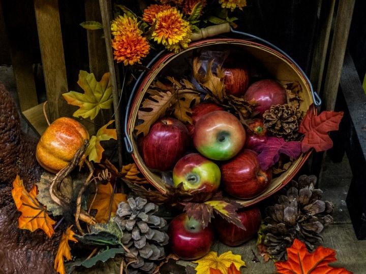 DIY Fall Decor, harvest decor