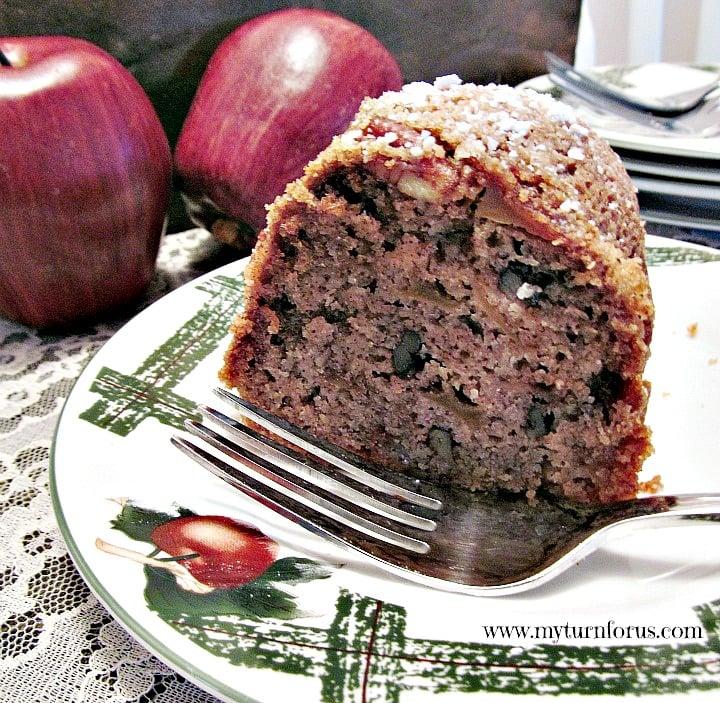 Raw Apple Cake, Apple Bundt Cake, Apple Coffee Cake